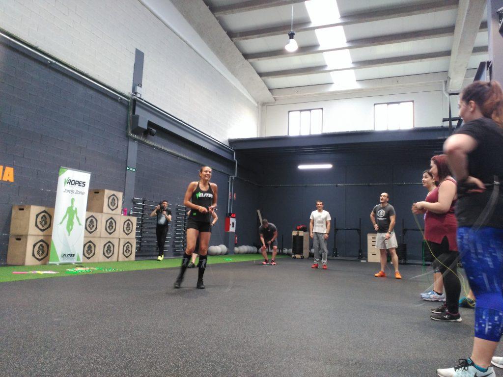 Adrienn Banhegyi saltos comba velites