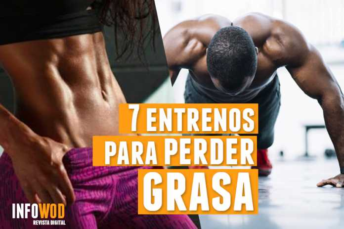 7 entrenos wod para perder grasa bajar peso infowod
