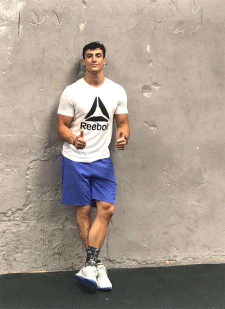 Alexander Anasagasti atleta crossfit regionals 2018 reebok
