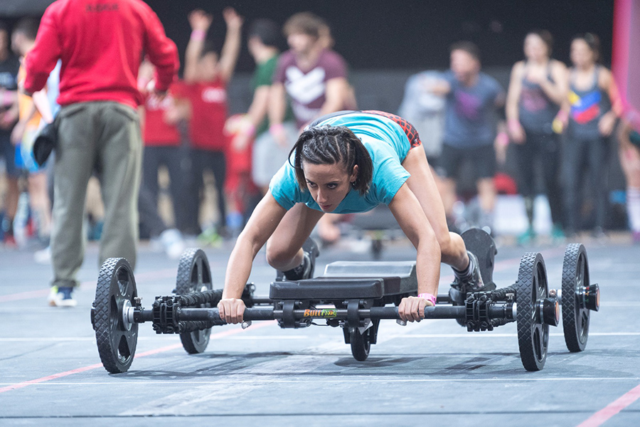 Almudena dominguez fisioterapia crossfit españa infowod winter games 2018