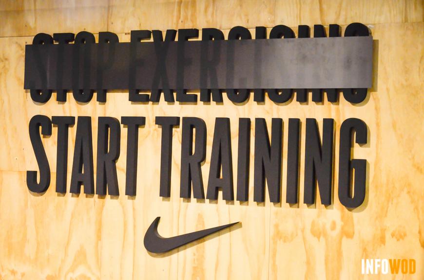 Metcom 3 nike stop exercising start training