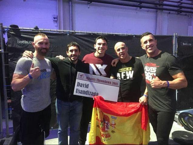 Representación española en el Master Throwdown