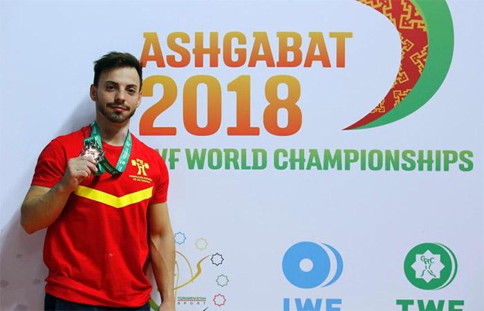 Josué brachi españa deportista halterofilia mundia iww 2018