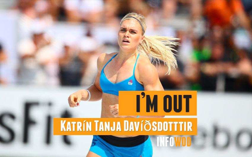 Katrin Tanja Davidsdottir no competira en crossfit games 2020 out