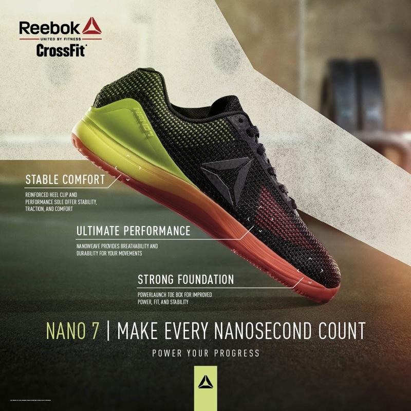 reebok nano 7 rojo