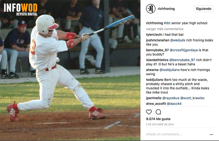 Rich-froning-young-joven-crossfit-pequeño-antes-beisbol-baseball