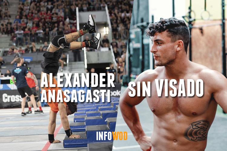 alexander ansagasti sin visa crossfit games 2019