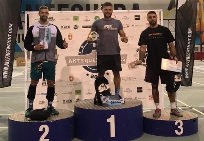 antequera games 2019 podium - RX Masculino
