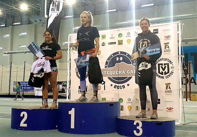 antequera games 2019 podium - RX femenino