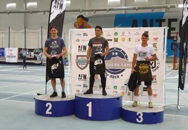 antequera games 2019 podium -Teens Masculino
