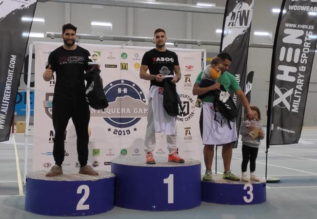 antequera games 2019 podium -escalado masculino
