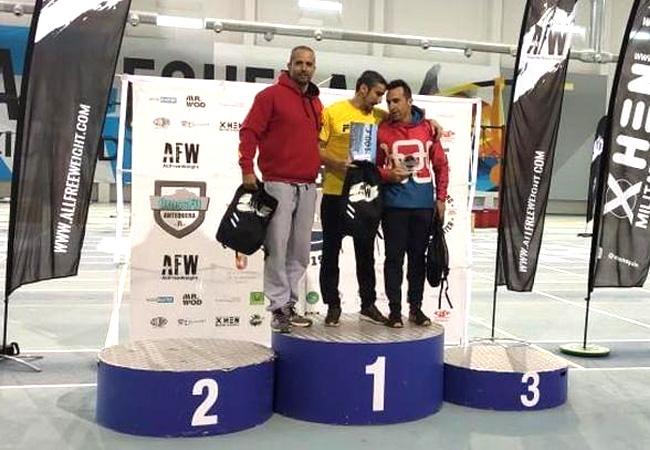 antequera games 2019 podium -master +40 masculino