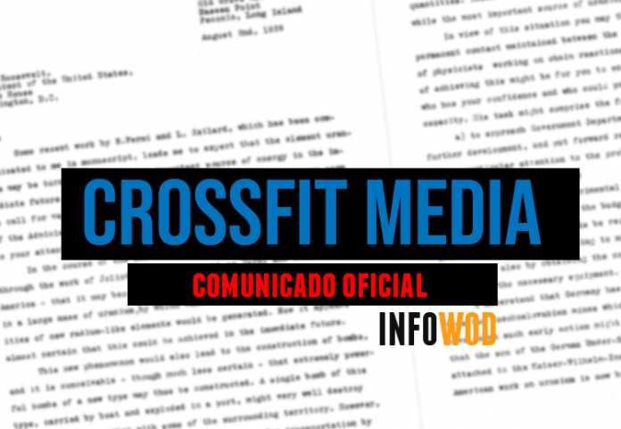 cominicado oficial crossfit media borrar redes sociales facebook instagram eliminadas
