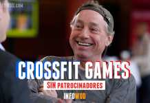 crossfit games sin patrocinadores