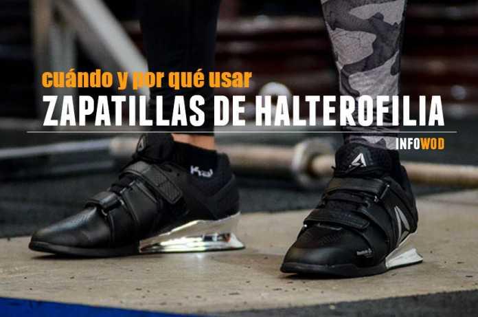 cuando usar porque zapatillas halterofilia crossfit