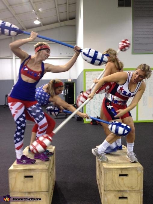 disfraz-halloween-crossfit-gladiador-americano-grupo-infowod-fitness