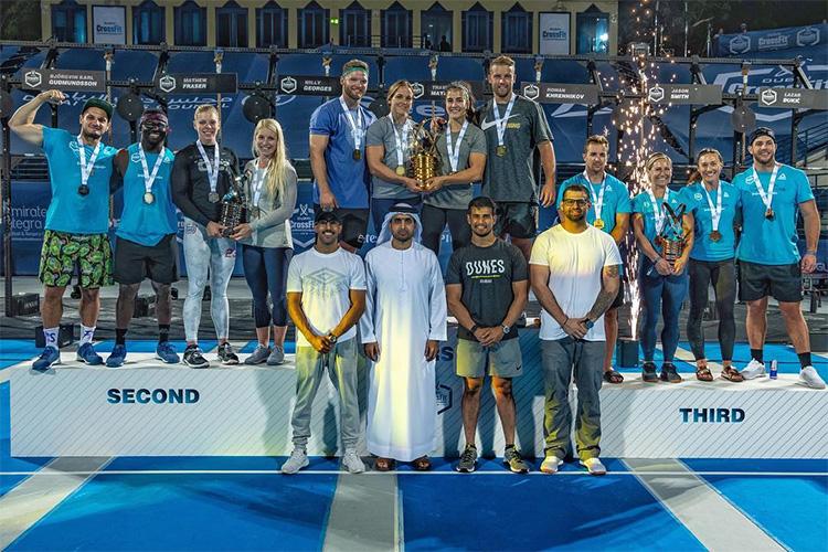 dubai crossfit championship 2018 equipos