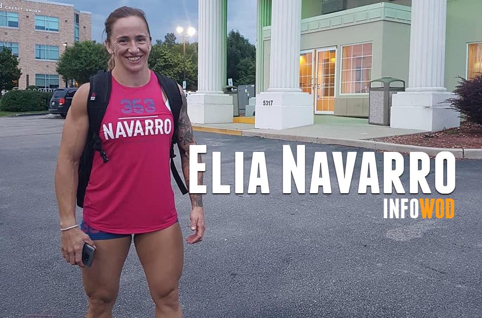 elia navarro crossfit games 2018 atleta españa master