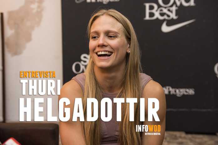entrevista thuri helgadottir crossfit atleta islandia suiza regionals games