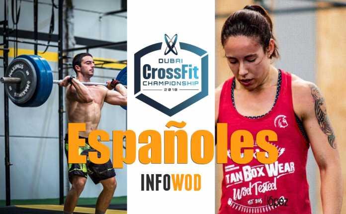 españoles dubai crossfit chamnpionship 2018