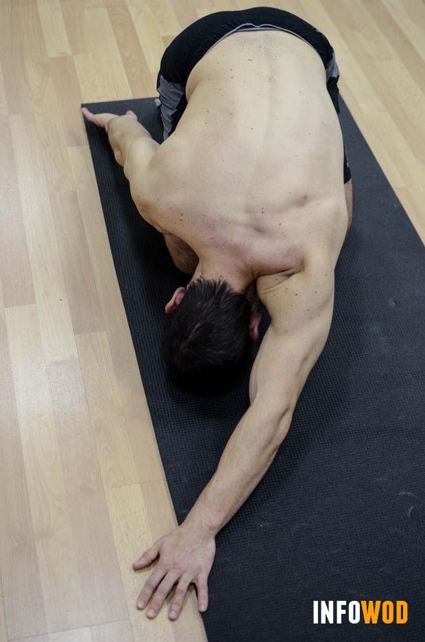 estiramiento de espalda-tronco