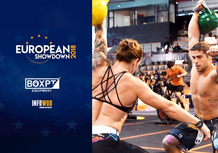 european showdown 2018 boxpt equipment crossfit francia