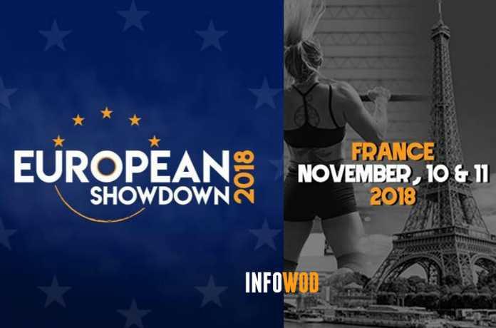 european showdown 2018 paris crossfit evento