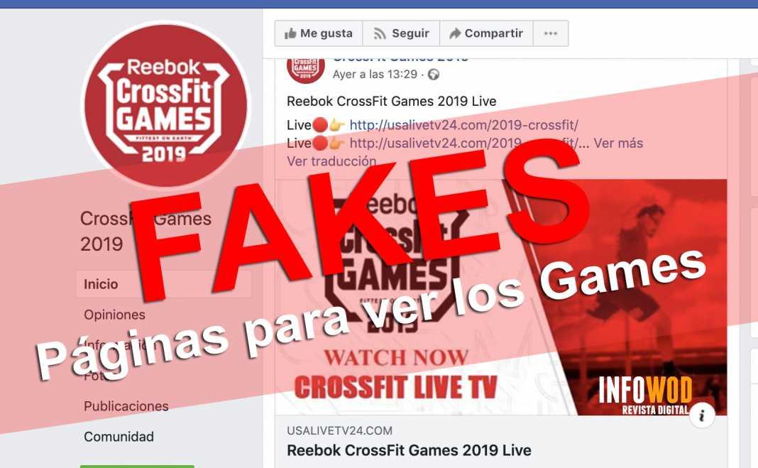 fakes paginas ver los crossfit games 2019 watch falsas gratis