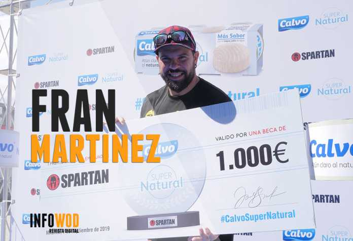 fran martinez espartan race 2019 embajador calvo