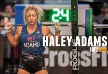 haley adams chica 15 años crossfit games 2018 perfectos