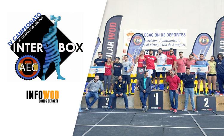 IV Campeonato de España Interbox por Equipos 2018 ec927f557cc17
