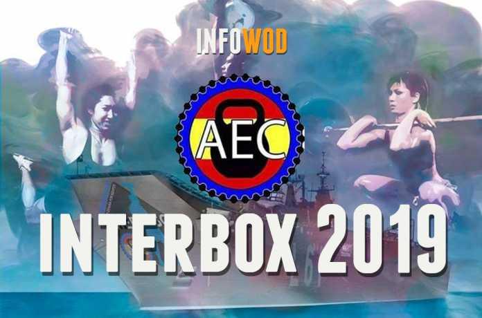 interbox equipo crossfit 2019 evento barco marina militar rota portaviones