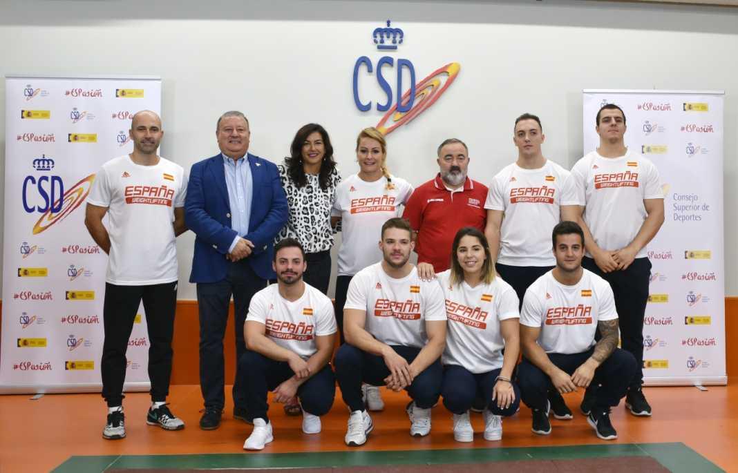mundial de halterofilia 2019 equipo español