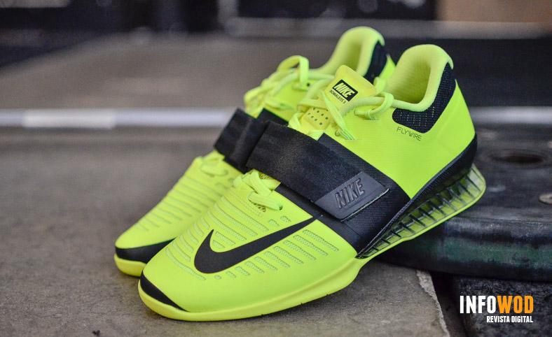 premium selection 35ff3 36c58 nike-romaleos-3-amarillas-fluorescente-verde-halterofilia-2