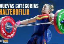 nuevas categorias halterofilia 2018 2019