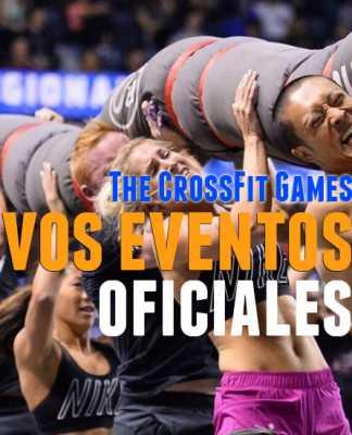 nuevos eventos oficiales clasificatorios crossfit games