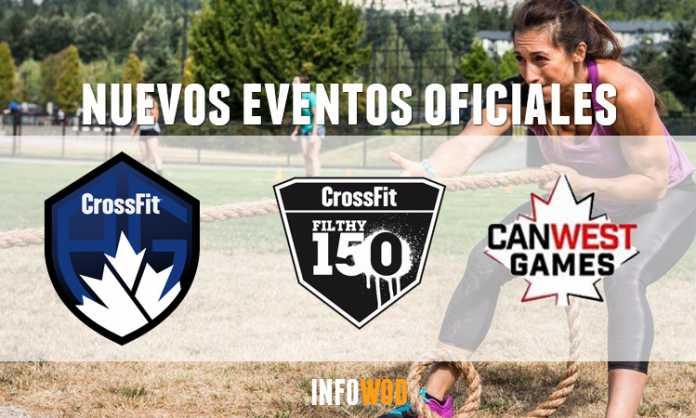 nuevos eventos oficiales crossfit games 2020