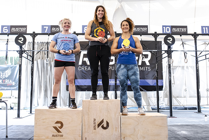 podium andalusi challenge 2018 rx categoria crossfit 35 femenino