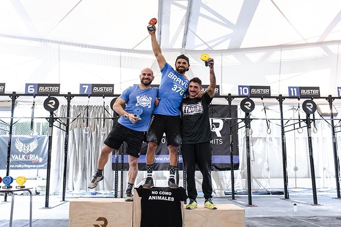 podium andalusi challenge 2018 rx categoria crossfit 35