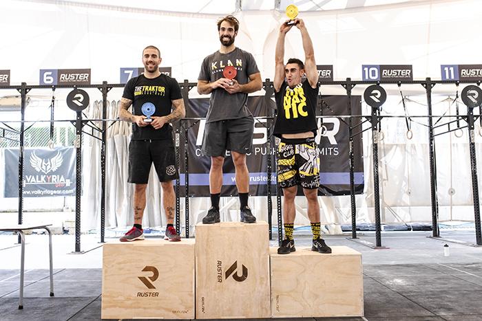 podium andalusi challenge 2018 rx categoria crossfit