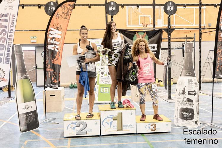 podium lauro vetus 2019 escalado femenino