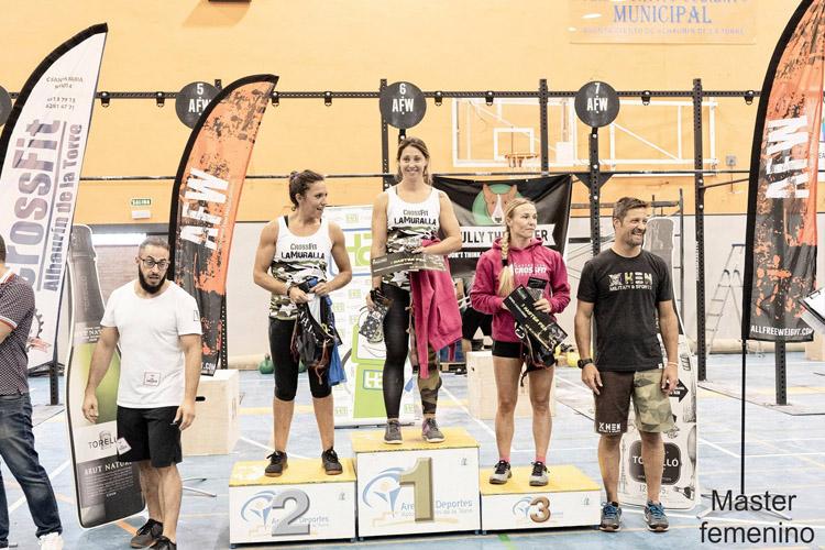 podium lauro vetus 2019 master femenino