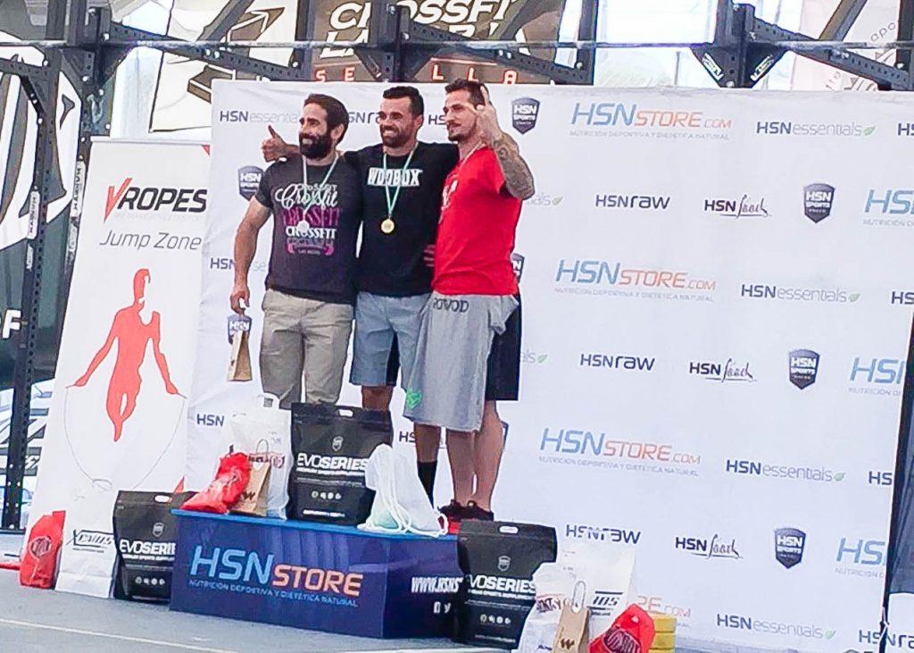 podium categoria 34 masculino andalusi challenge 2016 crossfit