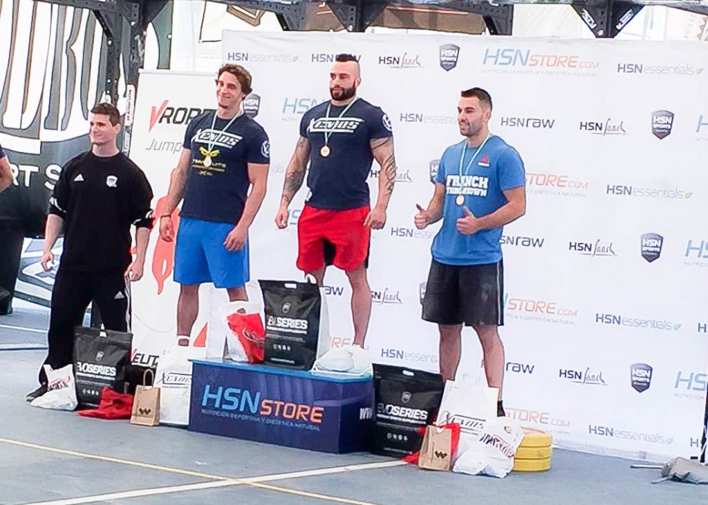 podium categoria rx masculino andalusi challenge 2016 crossfit