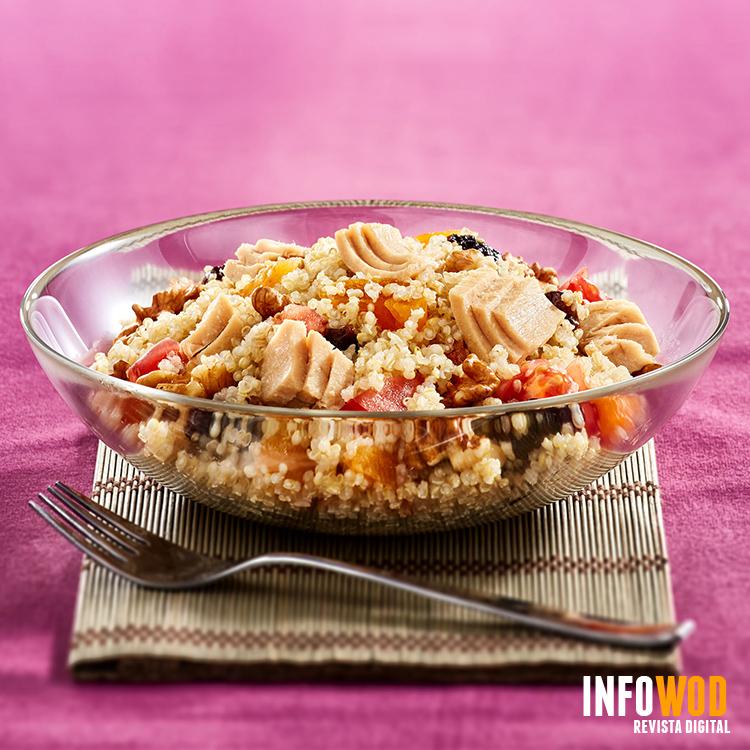 receta Quinoa con Atun