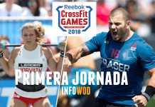resumen primer dia jornada crossfit games 2018 cronica